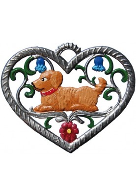 Heart with Dog small