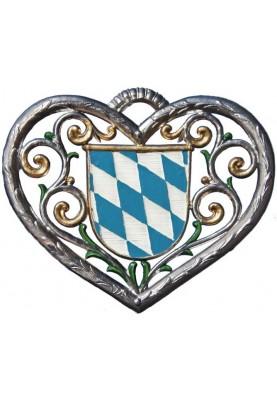 Herz mit Bayernwappen klein