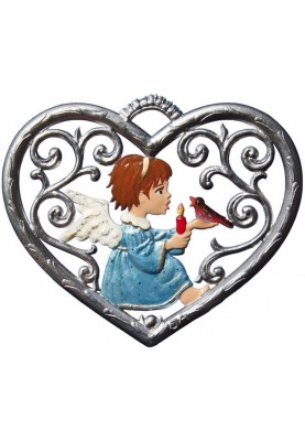 Heart with Angel small