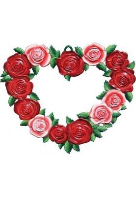 Heart of roses medium
