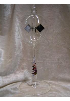 Lichtmühle 8cm mit buntem Stiel