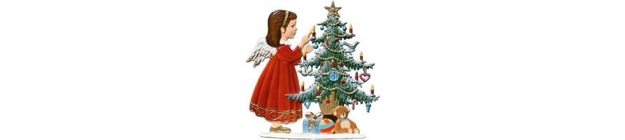Zinn Kleinschmidt - Zinnfiguren zum Stellen, Weihnachten, handbemalt