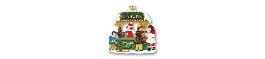 Pewter Kleinschmidt - Pewter Figurines and Ornaments, Best Seller, handpainted, made in Bavaria