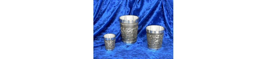 Pewter Kleinschmidt - Cups made out of pewter of high Quality, casted by masters hand