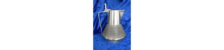 Pewter Kleinschmidt - Pichers made out of pewter of high Quality, casted by masters hand