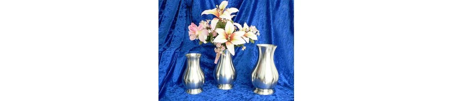 Pewter Kleinschmidt - Vases made out of pewter of high quality, casted by masters hand
