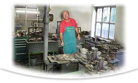 Pewter manufacturing